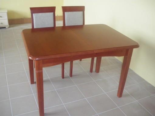 AT 2 stół olchowy mały rozsuwany